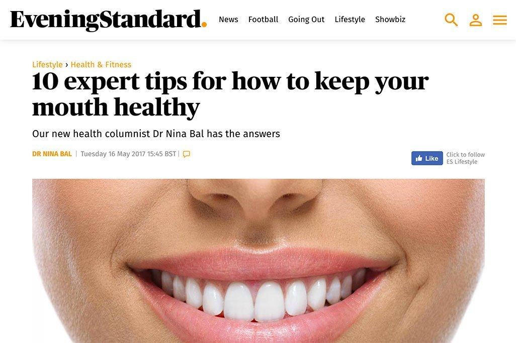 Evening Standard health columnist