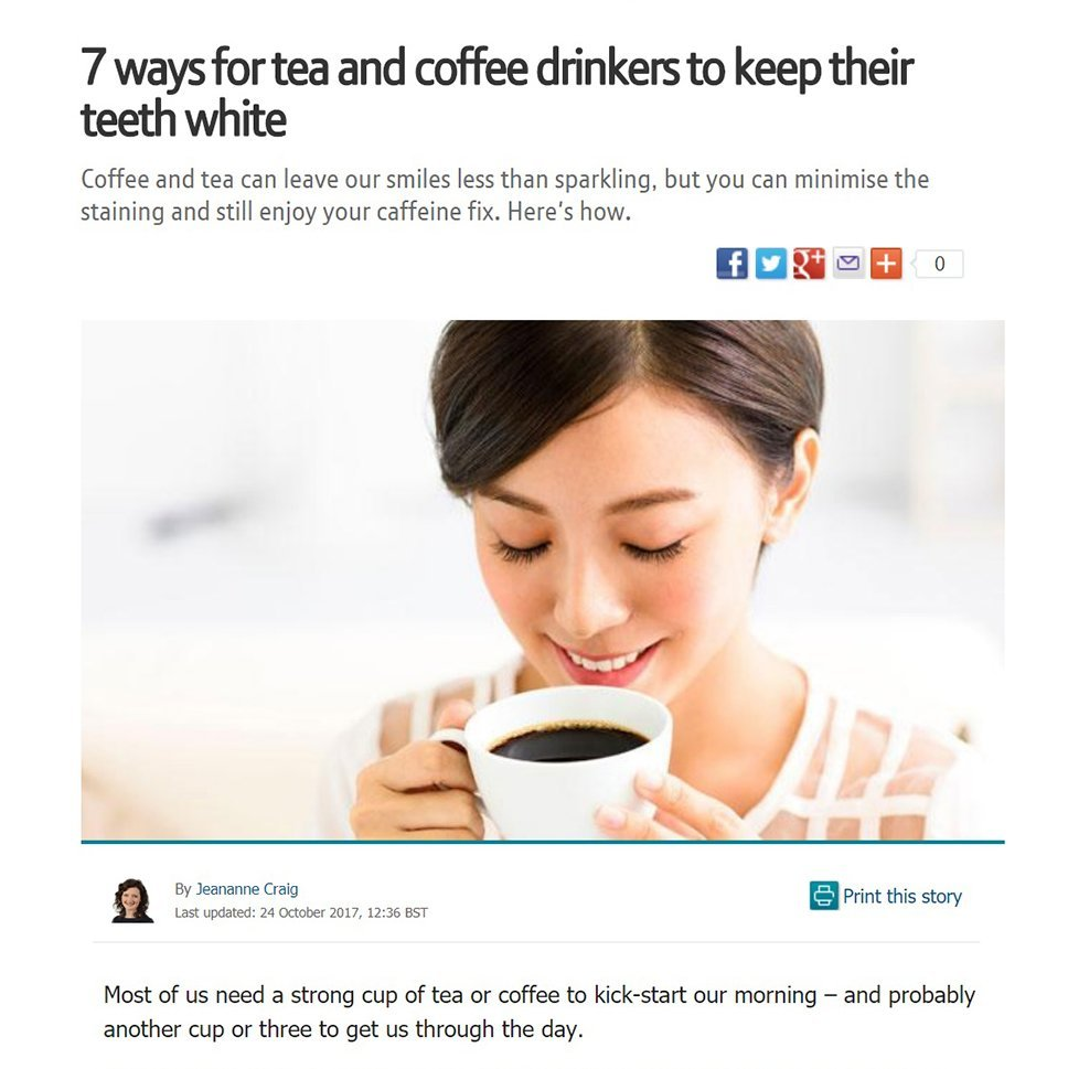 BT.com - 7 ways for tea and coffee drinkers...