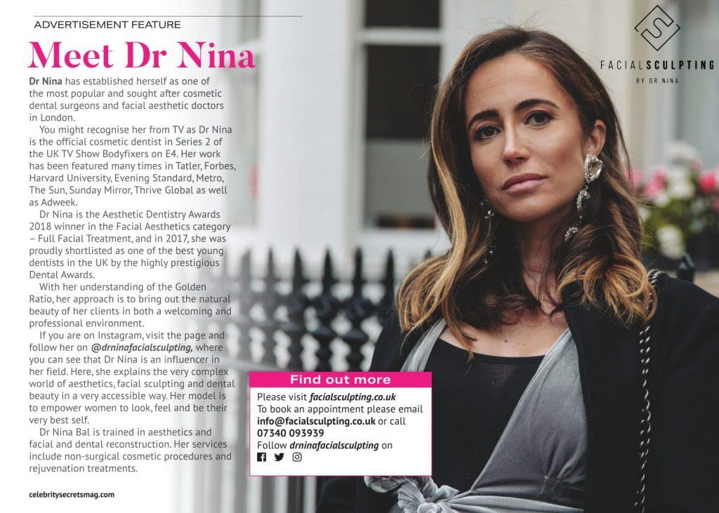 Dr Nina Bal Ok Magazine