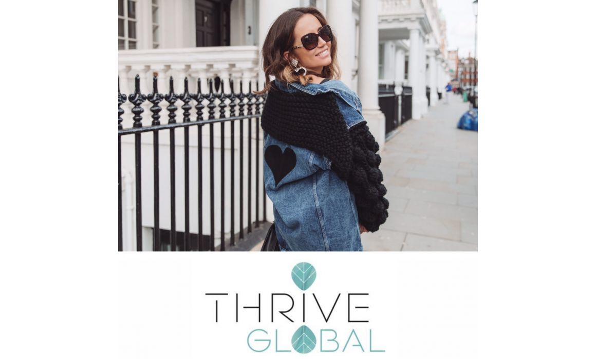 Dr Nina for Thrive global
